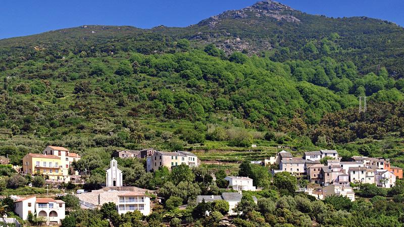 Route Sainte Lucie  Ville Di Pietrabugno